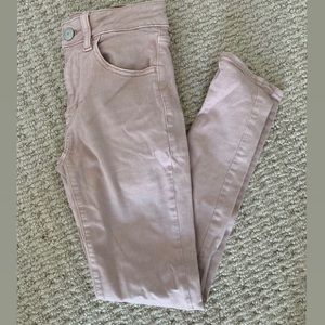 American Eagle Pink Jeans